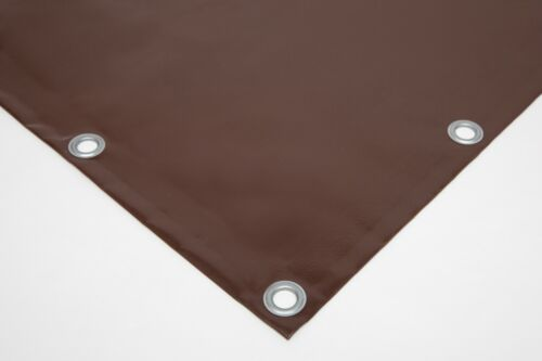 Truck Tarpaulin PVC Cover with Eyelets Various Colours Without Hem 610g//M²
