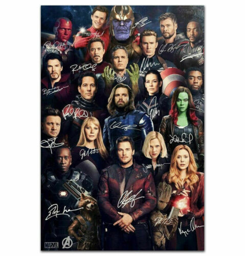 D210 Art Poster Avengers Endgame Sign Movie Marvel 2019 Film Silk Print