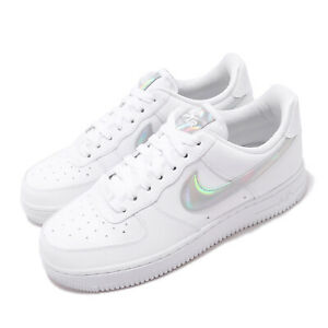 Nike-Wmns-Air-Force-1-07-ESS-AF1-Iridescent-Swoosh-White-Women-Shoes-CJ1646-100