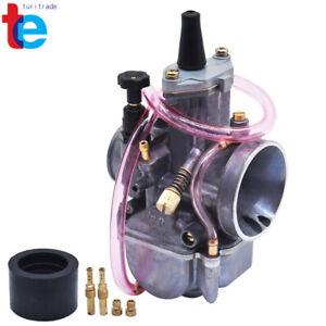 28mm-OKO-PWK-Power-Jet-Carburetor-For-Flat-Slide-OKO28-JOG-DIO-KR150-RTL250-Carb