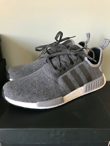 Image is loading adidas-NMD-R1-Charcoal-Wool-BW0616-13 e4042b202