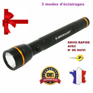 Flashlight led 80 lumen dunlop 1 w multi-purpose 3 modes