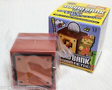 Super Mario Bros. Sound Bank Retro Blank Block Figure JAPAN NES