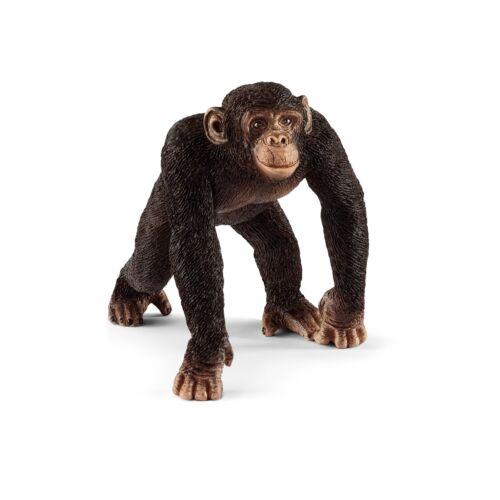 Schleich Wild Life 14817 Chimpanzé Mâle Nouveauté 2018!
