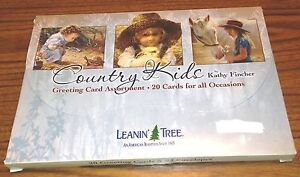 New-Leanin-039-Tree-Country-Kids-Greeting-Card-Assortment-Birthday-Cards-Others