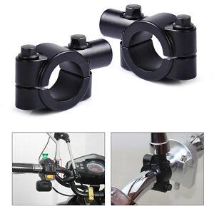 paar motorrad spiegelhalter spiegelschelle 7 8 22mm. Black Bedroom Furniture Sets. Home Design Ideas