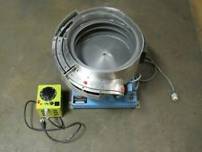 Fortville Feeders 12 Ss Stainless Vibratory Bowl Feeder With Controller 3994