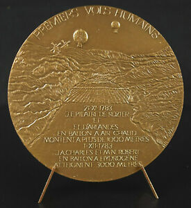 Medal-Brothers-Montgolfier-Balloon-Inventors-Aerostat-Pilatre-Rozier
