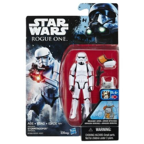 Star Wars Rogue One Stormtrooper w// Breakaway Armor 3 3//4 MOC Free Shipping