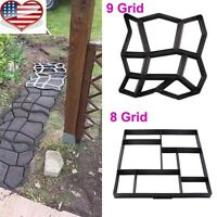 Driveway Paving Brick Patio Concrete Slabs Path Pathmate Garden Walk Mould Make