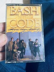 Bash N The Code More Than Enough Christian Music CASSETTE TAPE New
