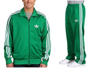 3efedc35e8b9 Adidas Originals Firebird MENS Fairway Green Track Suit Jacket ...
