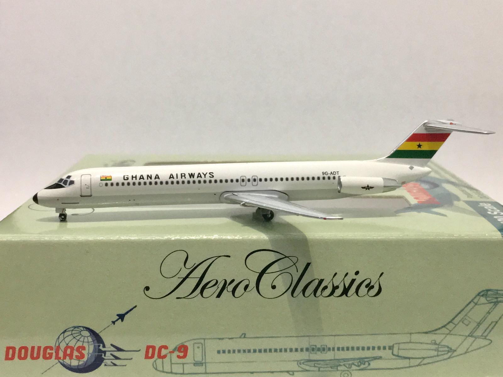 Aeroclassics Ghana Airways Airways Airways DC-9-50 1 400 9G-ADT AC71219 24207c