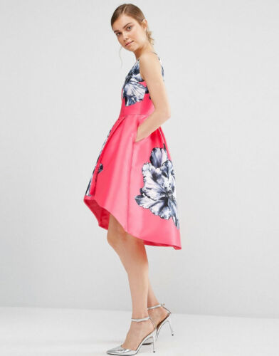 Dress Ursula Placed Pink Floral Coast 08Apqx