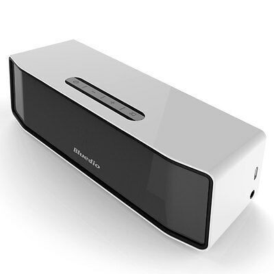 Bluedio BS-2(Explorateur) Mini haut-parleur enceinte Bluetooth Sans fil Blanc