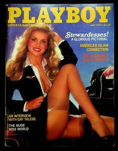 Playboy Magazine May 1980 VG Stewardess Flight Attendant