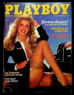 Vtg Playboy Magazine Back Issue May 1980 ~ Playmate Martha