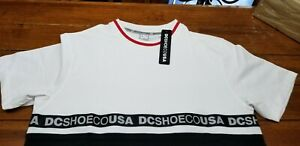 NWT-DC-SHOES-JERSEY-TEE-SIZE-LARGE-INK-SKIN-TEE-SIZE-LARGE-TSHIRT