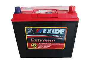 exide extreme x60cmf car battery for honda cr v 02 09. Black Bedroom Furniture Sets. Home Design Ideas