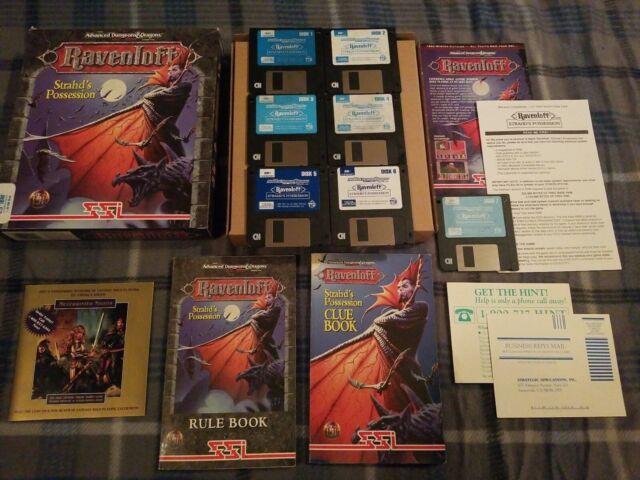 Ravenloft: Strahd's Possession (PC, 1994)