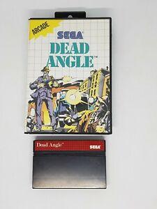 Dead Angle Sega Master System Game no manual FAST POST