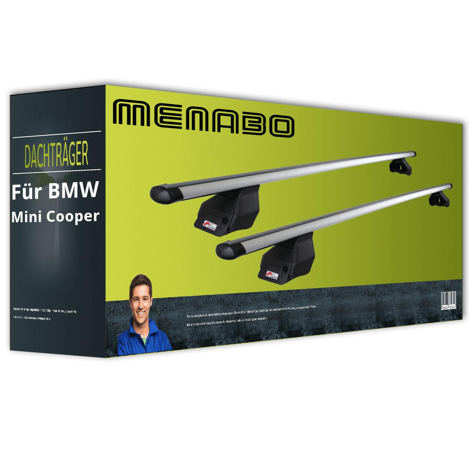 Menabo Tema Dachträger EBA Aluminium für BMW Mini Cooper Typ R50 NEU inkl