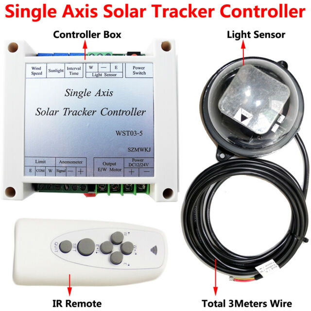 Complete Single Axis Electronic Controller For PV Solar Tracker Tracking System