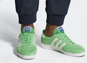 Rebaja huella dactilar por ciento  Adidas Spezial Green With White München Super B41810 Mens Size 8.5 New |  eBay