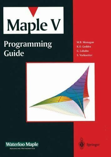 Maple V Programming Guide, Waterloo Maple Inc, Good Book
