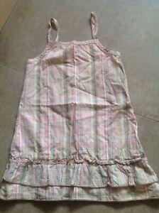 Sommerliches Kleid Mit Glitzergarn In Gr.104 Von Tutti Paletti