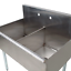 36-034-2-Compartment-18-034-x-21-034-x14-Stainless-Steel-Commercial-Utility-Prep-Two-Sink thumbnail 10
