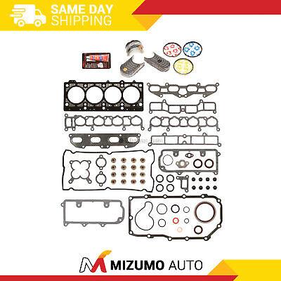 TURBO Main Rod Bearings Fits 02-07 Mitsubishi Lancer 2.0L SOHC 16v EXC