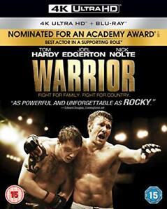 Warrior-4K-Blu-ray-2018-DVD-Region-2