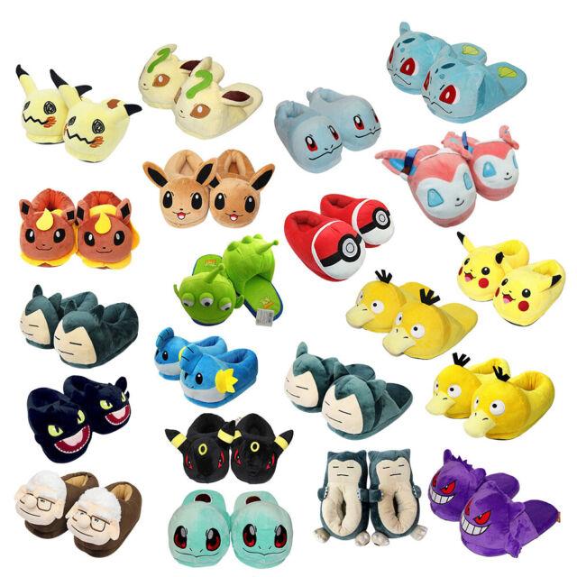 Pokemon: Pikachu 3D plush Slippers