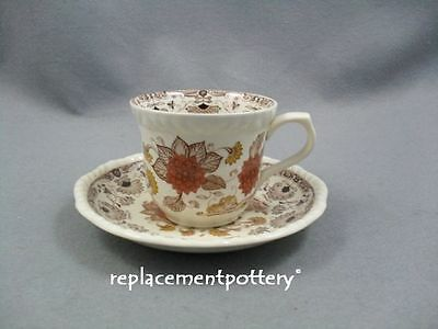 Adams Cornwall Tea Cup & Saucer Adams