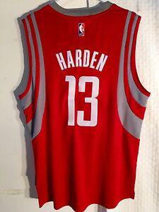 910e76ffa090 Adidas Swingman 2015-16 NBA Jersey Houston Rockets James Harden Red ...