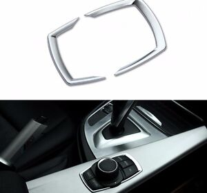 Details about Chrome Interior iDrive Buttons Trim For BMW F20 F22 F30 F31  F32 1 2 3 4 series