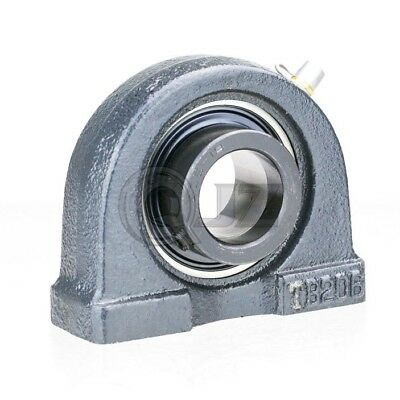 2x 1 7//16 in Pillow Block Cast Iron HCTB207-23 Mounted Bearing HC207-23+TB207