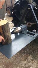 Handmade Tractr Log Splitter Powered Screw Type From PTO Fits Tractor Kat1 Kat2