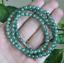 Certifié non traités Vert Icy Jadeite Jade 8 mm Collier Offre Spéciale 20 in environ 50.80 cm