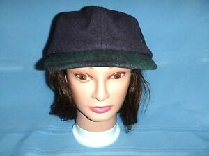 30ae14948 Details about Mens/Womens Vintage London Fog Sterling Edition Wool Hat  Cabbie Newsboy -Size: L