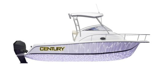 Maxum Mako CENTURY Logo Decal Wellcraft and others available