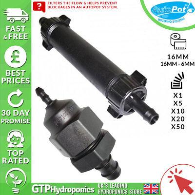Ingegnoso 16mm Autopot Inline Filtro-qtà: 1/5/10/20/50 - Gtp Idroponica- Alta Qualità