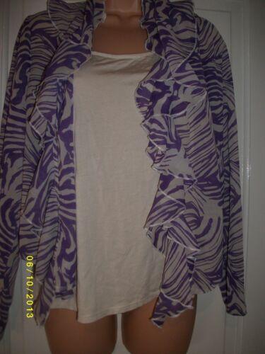 Violet Et Crème Taille 16 TOP