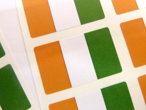 Mini Sticker Pack Self-Adhesive Ivory Coast Flag Labels FR107