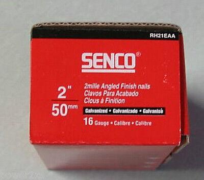 Senco RH21EAA 16ga 50mm Angled Brad Nails 2000pc