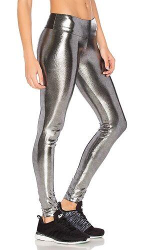 Sukishufu leatherback Leggings - Metallic Fabric -