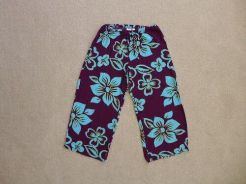 Victoria's Secret Beach Pajama Lounge Pants Capri'