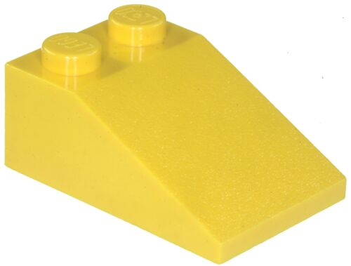 Missing Lego Brick 3298 Yellow x 4 Slope Brick 33° 3 x 2