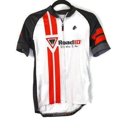 Primal Womens Cycling Jersey Sz M New Raglan Mile Marker Florida Short Sleeve